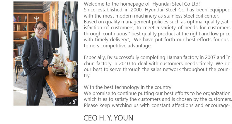 CEO Message - HD-Stell